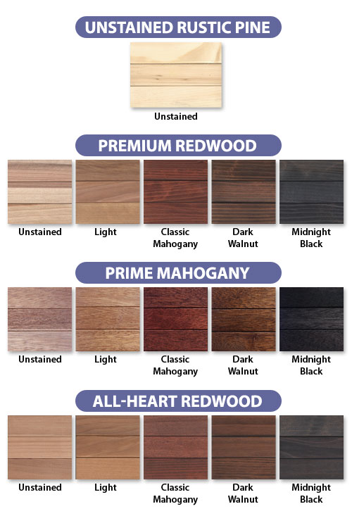 mahogany wood stain colors