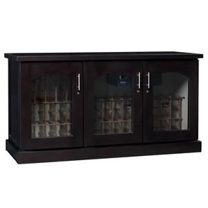 Le Cache Contemporary Wine Cabinet 3 Dr Credenza