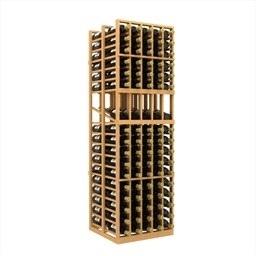 Double Deep 5 Column Wine Rack Display